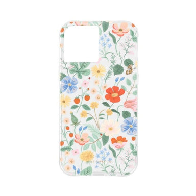 Rifle Paper Co. - Clear Strawberry Fields for iPhone 12 mini [ マルチカラー ]