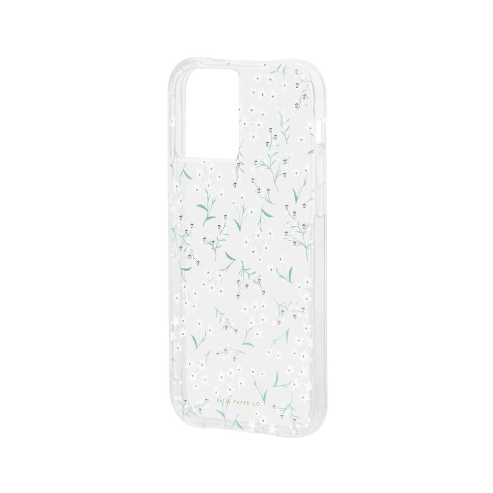 Rifle Paper Co. - Embellished Petite Fleurs for iPhone 12/12 Pro [ ホワイト ]
