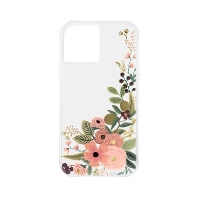 Rifle Paper Co. - Clear Garden Party Rose for iPhone 12 mini [ ピンク ]