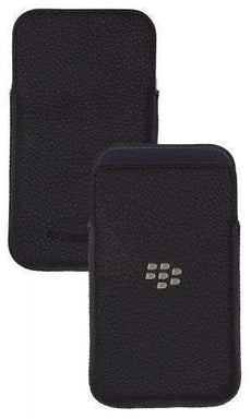 BlackBerry - BlackBerry Classic 純正 Leather Pocket case
