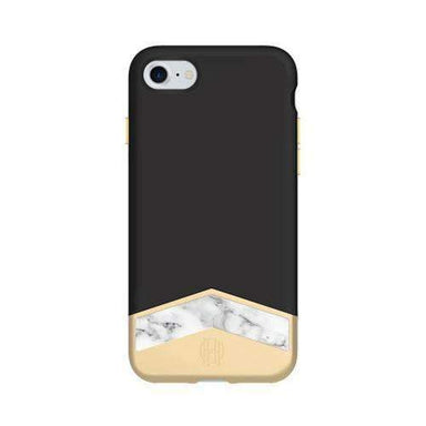 House of Harlow - 2-PC SLIDER CASE WITH MARBLE INLAY for iPhone 8/7 - FOX STORE