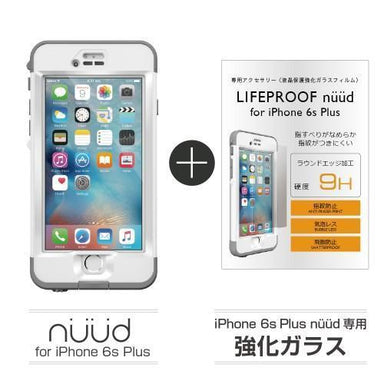 LIFEPROOF - NUUD for iPhone 6s Plus + 専用強化ガラス - caseplay