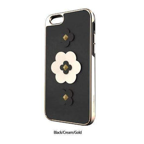 Rebecca Minkoff - GUITAR STRAP INLAY CASE Guitar Strap Flower for iPhone 8/7 - caseplay