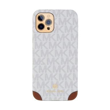 MICHAEL KORS - Slim Wrap Case 2 Tone for iPhone 12 Pro Max - Bright White