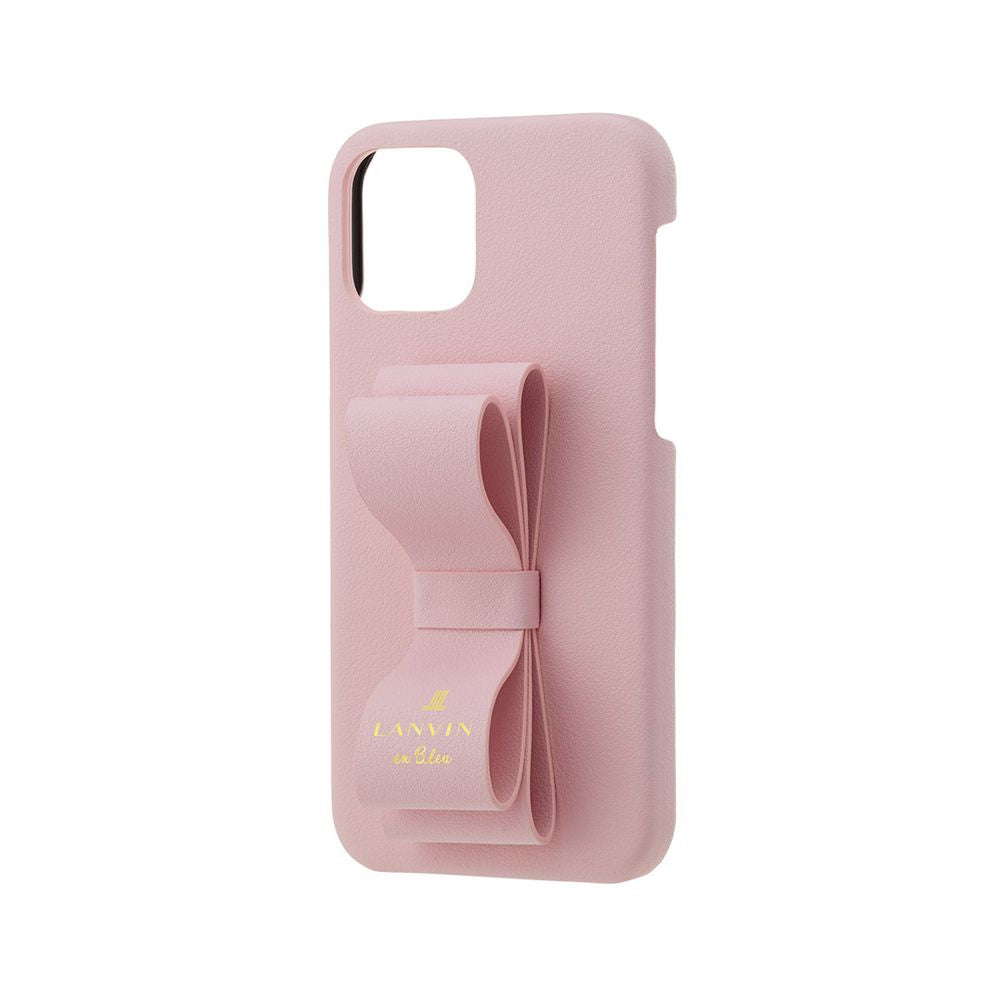 LANVIN en Bleu - SLIM WRAP CASE STAND & RING RIBBON for iPhone 11 Pro Max