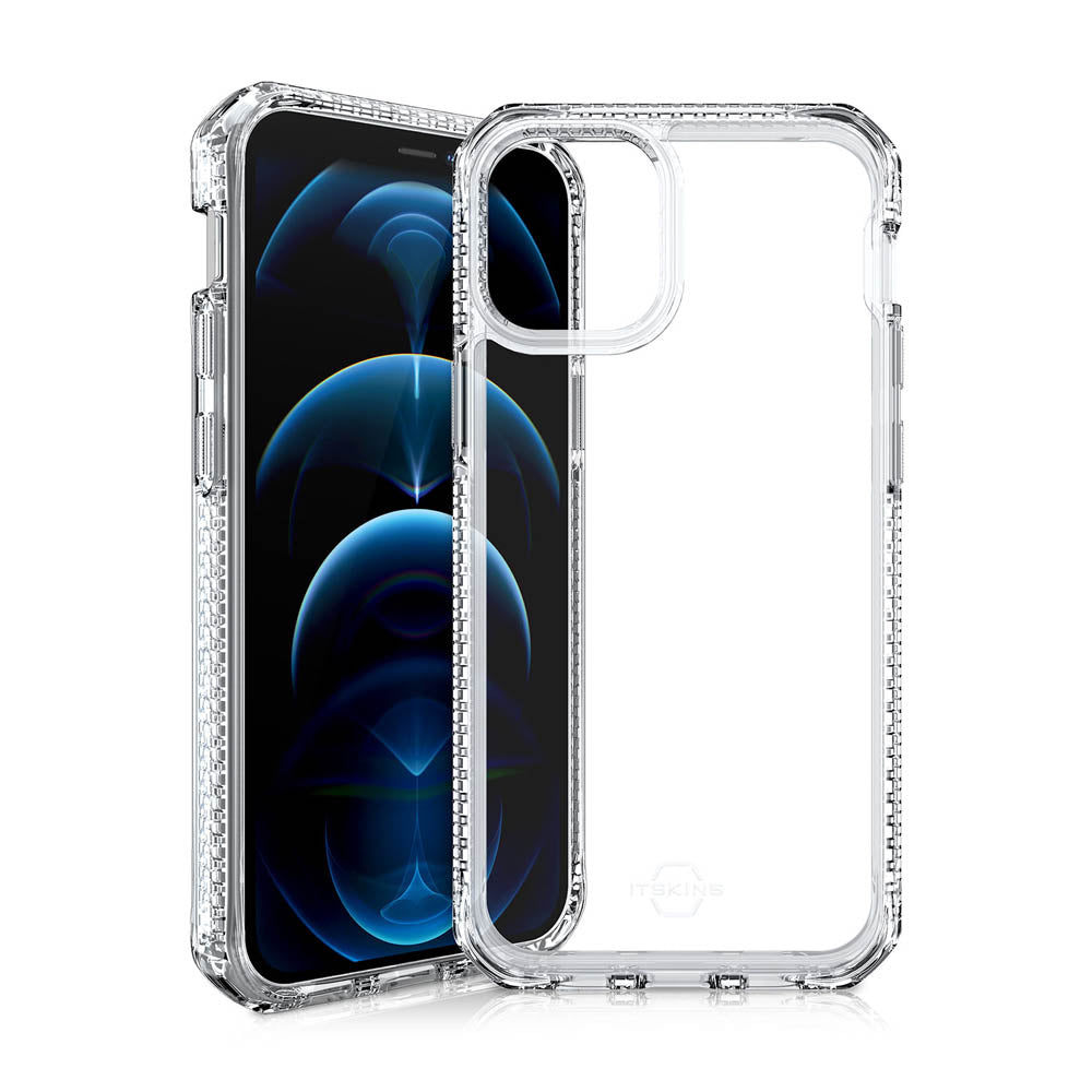 ITSKINS Hybrid CLEAR case for iPhone 12 / 12 Pro [ Transparent ]