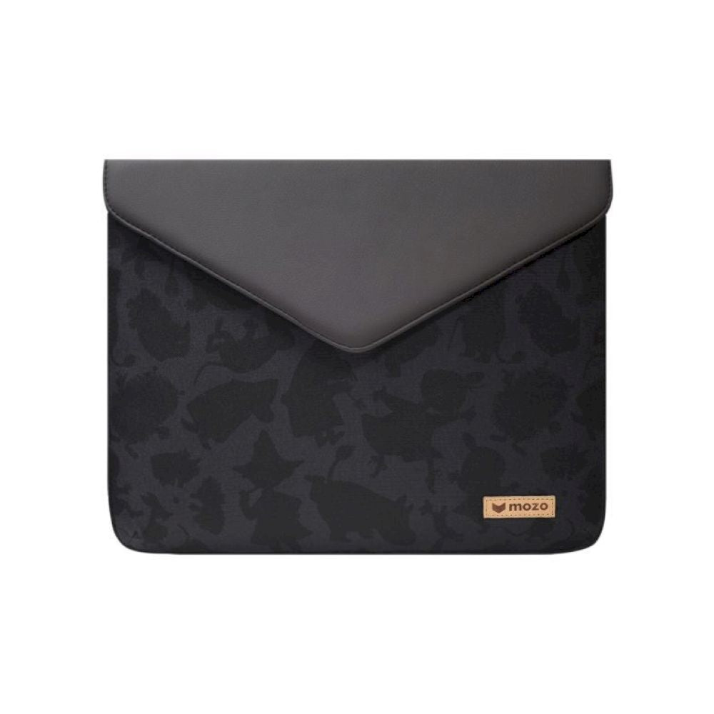 MOZO - MOOMIN Envelope Laptop Pouch 11-inch - Black and Black