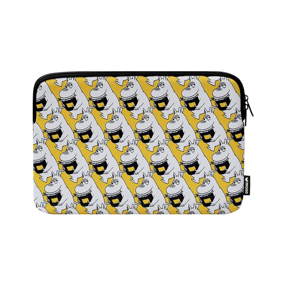 MOZO - MOOMIN Pop Art Laptop Pouch 15-inch - Yellow