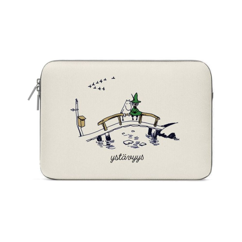 MOZO - MOOMIN Values Laptop Pouch 11-inch - Friendship