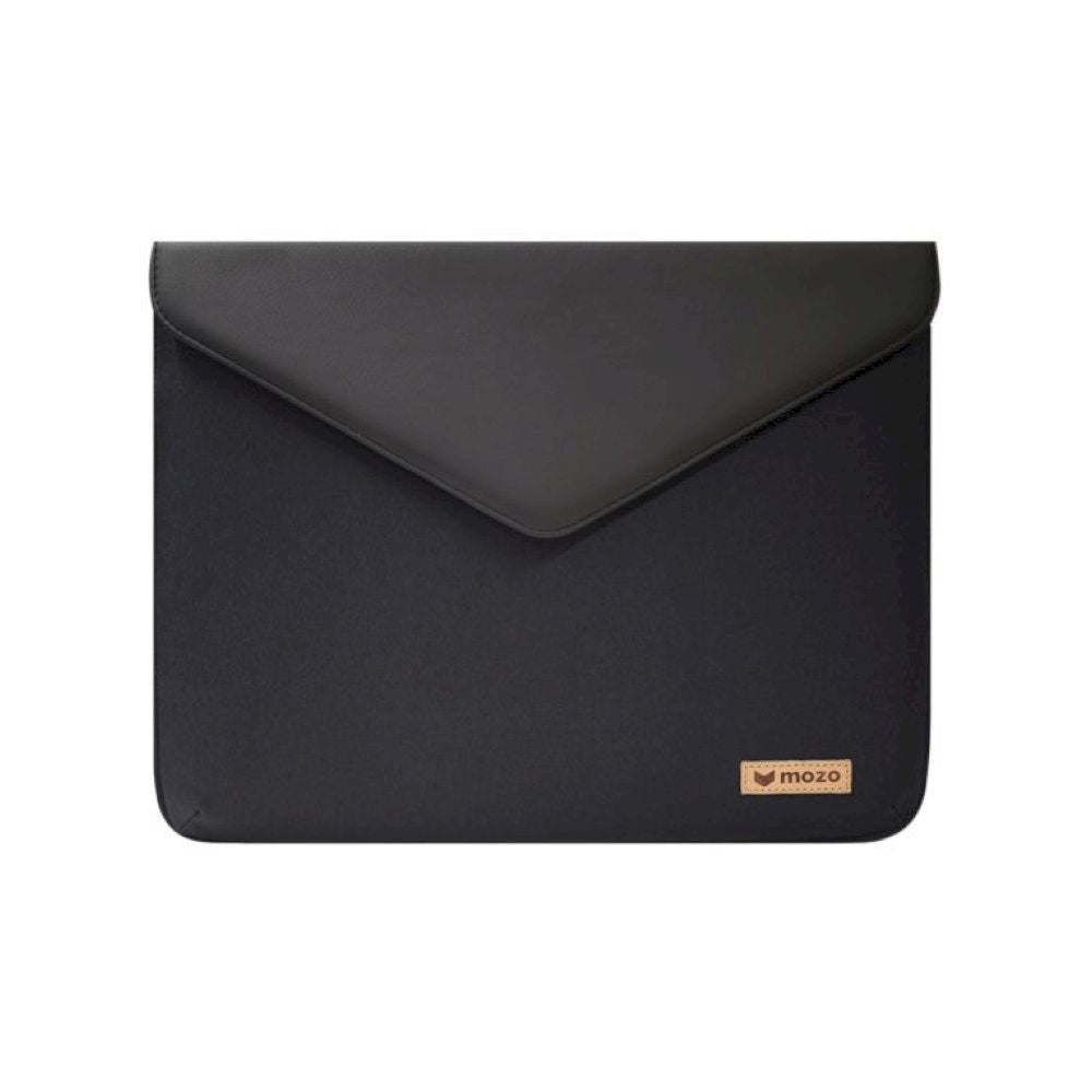 MOZO - Laptop Envelope Pouch 15-inch - Black on Black
