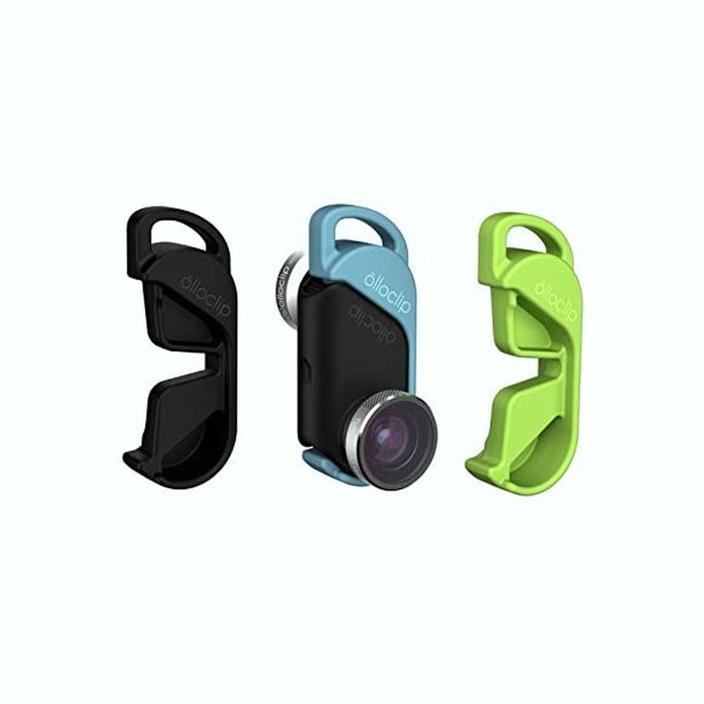 olloclip - olloclip 4-IN-1 Photo Lens for iPhone 6s/6 & 6s/6 Plus: Lens: Silver / Clip: Black + Blue, Green And Black Pendants
