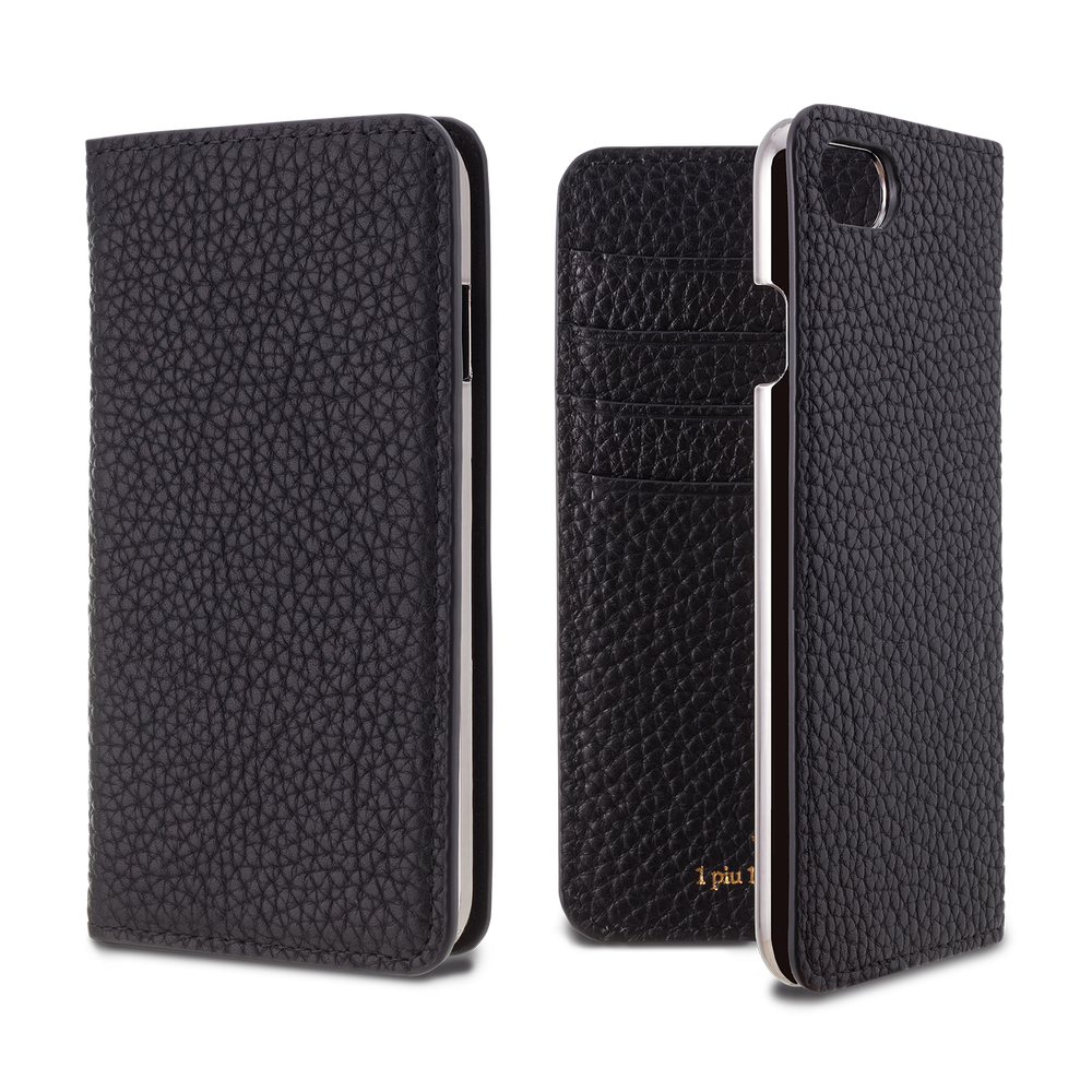 LORNA PASSONI - Leather Folio Case for iPhone 8/7 <1piu1uguale3> / ケース - FOX STORE