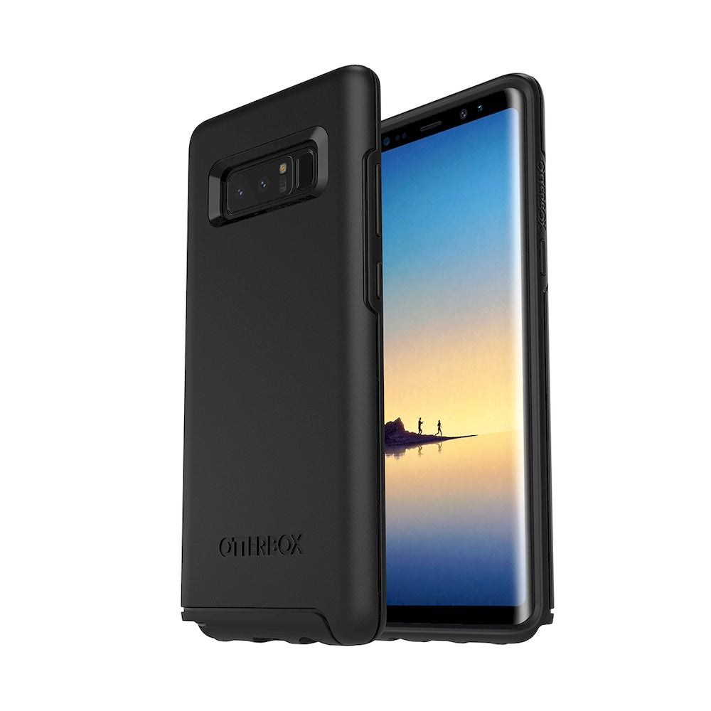 OtterBox - Symmetry Series For Galaxy Note 8 - Black