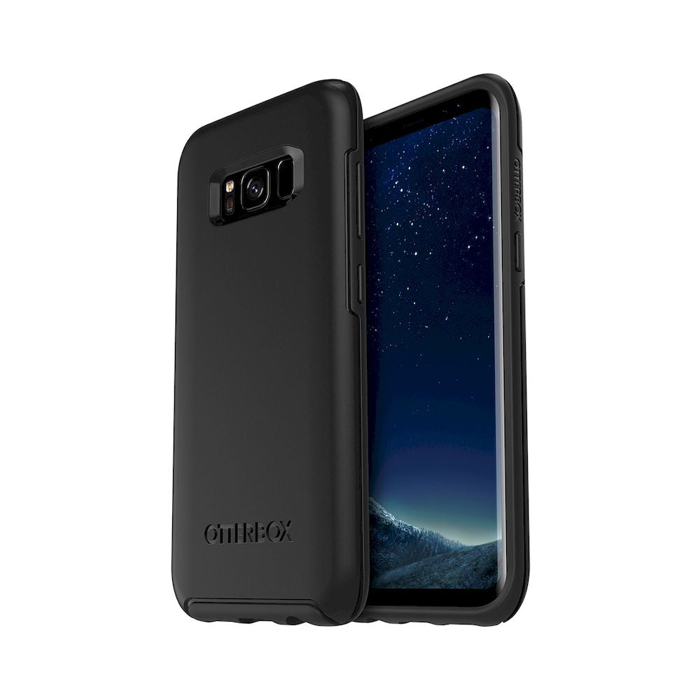OtterBox - Symmetry Series For Galaxy S8 - Black