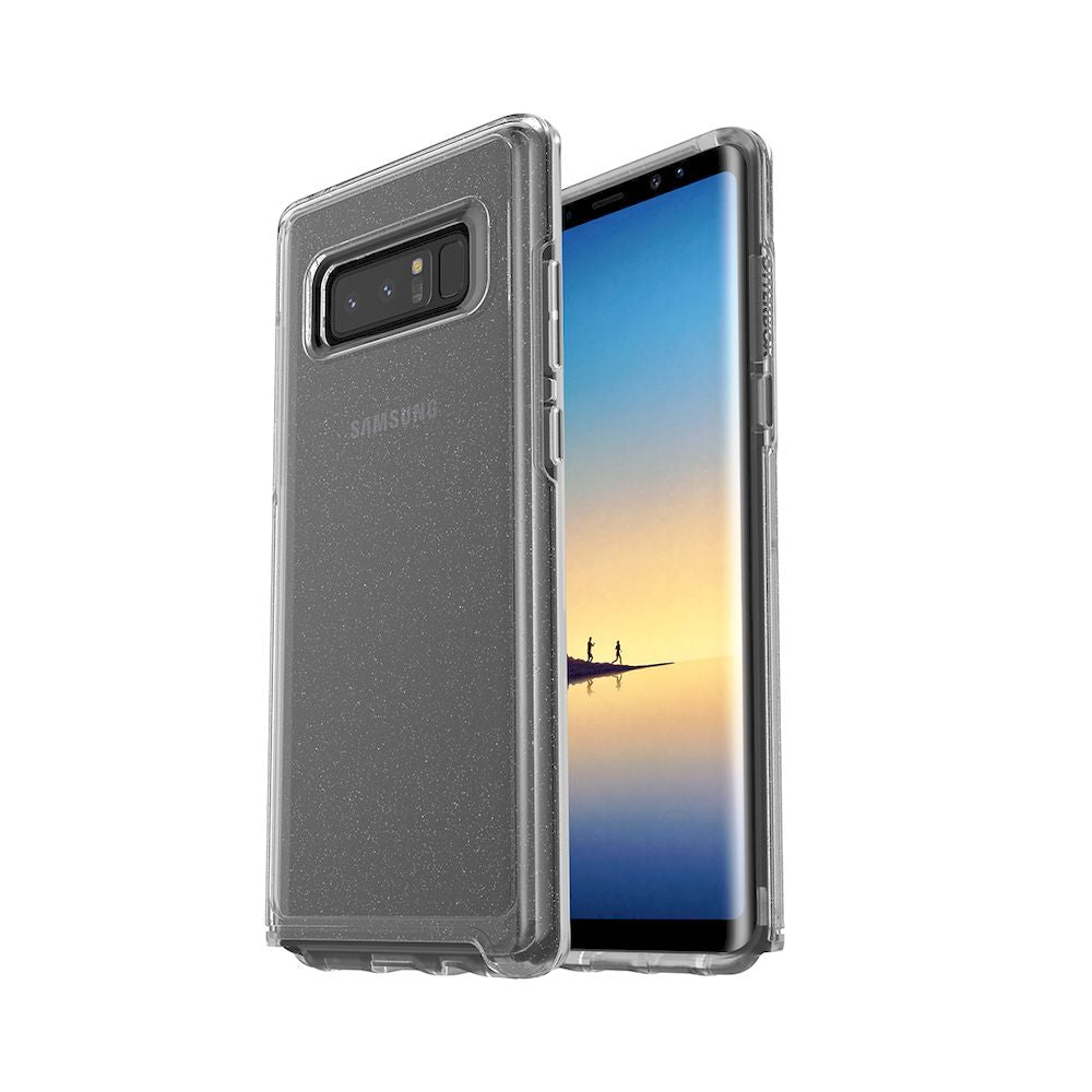 OtterBox - Symmetry Series Clear Case For Galaxy Note 8 - Stardust