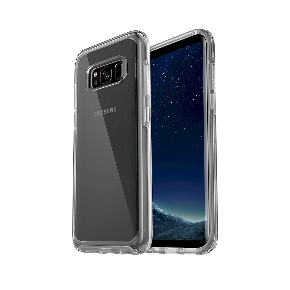 OtterBox - Symmetry Series Clear Case For Galaxy S8 - Clear