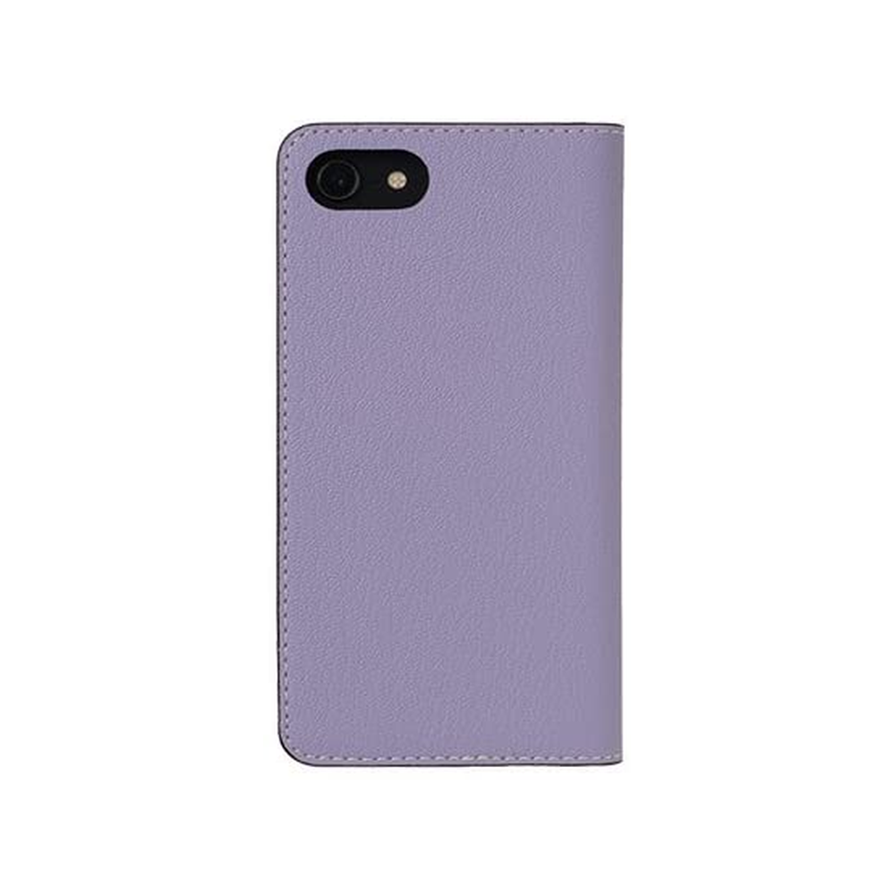 LORNA PASSONI - French Chevere Sully Leather Folio Case for iPhone SE 第2世代/8/7 - Lavande