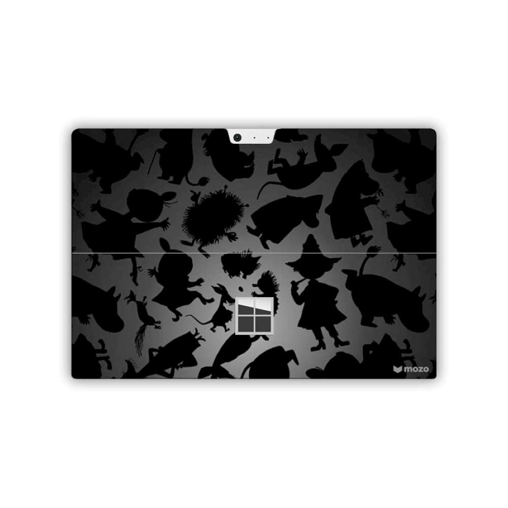 MOZO - Surface Skin for Surface Go 2/1 - Black