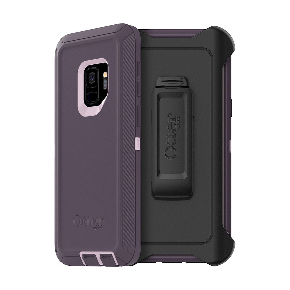 OtterBox - Defender Series Screenless Edition Case for Galaxy S9 - Purple Nebula