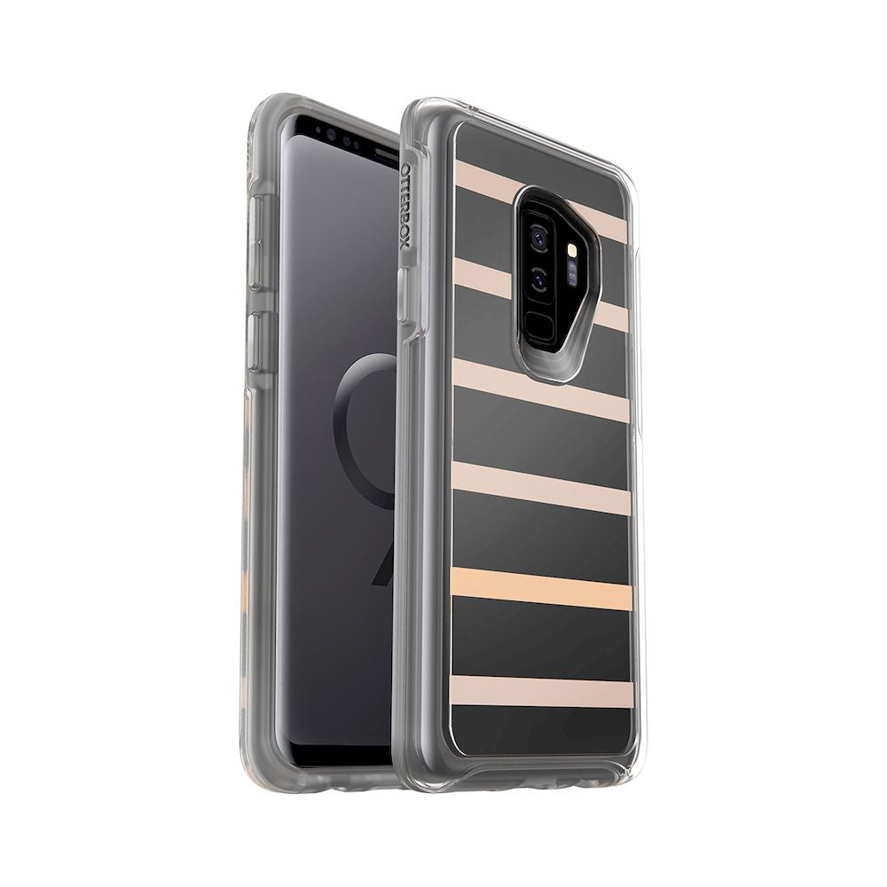 OtterBox - Symmetry Series Clear Case For Galaxy S9+ - Inside The Line