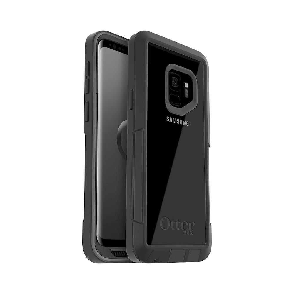 OtterBox - Pursuit Series For Galaxy S9 - Black/Clear