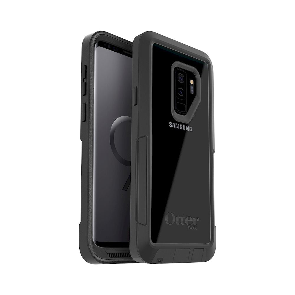 OtterBox - Pursuit Series For Galaxy S9+ - Black/Clear