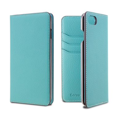 LORNA PASSONI - French Chevere Sully Leather Folio Case for iPhone 8/7 / ケース - FOX STORE