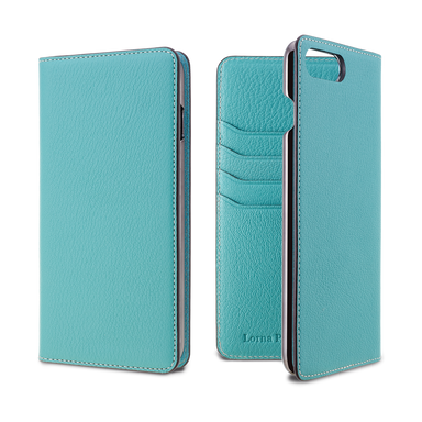 LORNA PASSONI - French Chevere Sully Leather Folio Case for iPhone 8/7 Plus / ケース - FOX STORE