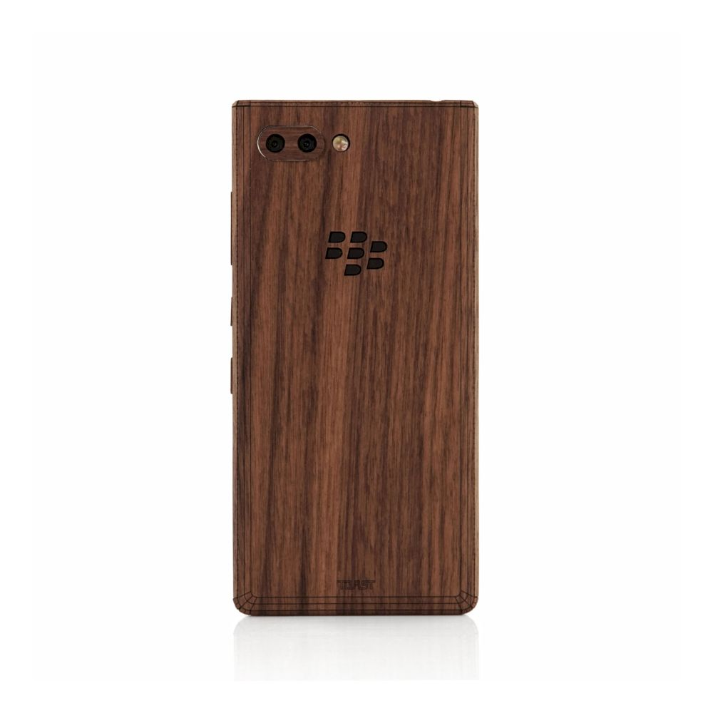 TOAST - Blackberry Cutout for Blackberry KEY2 - Walnut