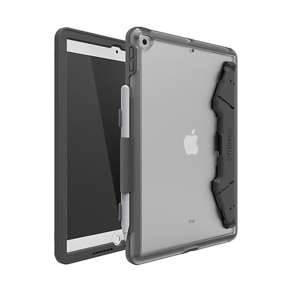 OtterBox - Unlimited Generation Slate Grey Pro Pack for iPad ( 8th/7th ) [ Clear/Slate Grey ]