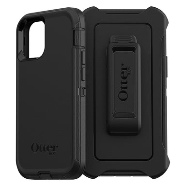 OtterBox - Defender Series for iPhone 12/12 Pro - BLACK