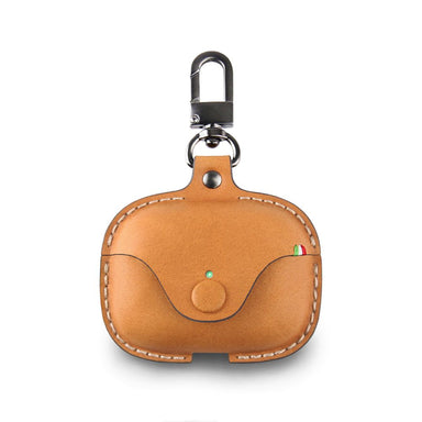 Cozistyle - Saddle Leather Case for Airpods Pro - Tan