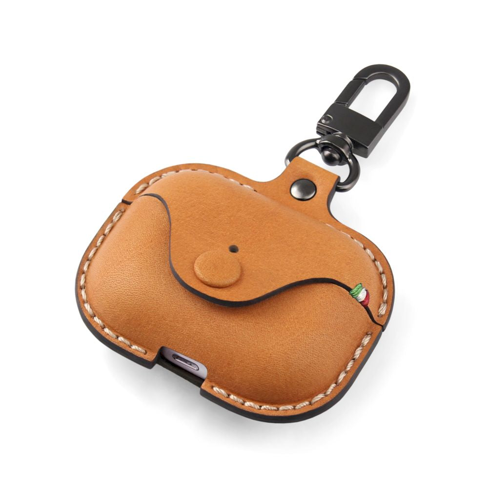 Cozistyle - Saddle Leather Case for Airpods Pro