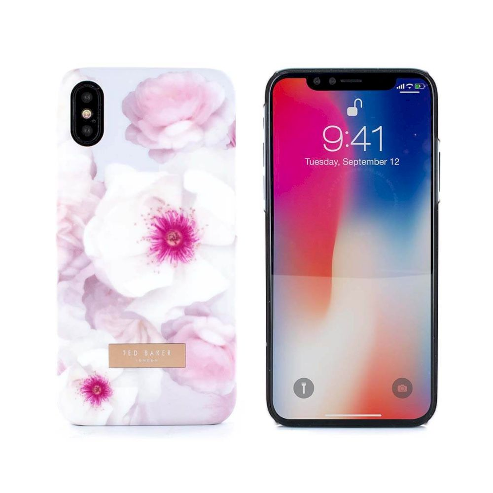 Ted Baker - Soft Feel Hard Shell (Apple iPhone XS/X) - KAMALA - Chelsea Grey - KAMALA-Chelsea Grey