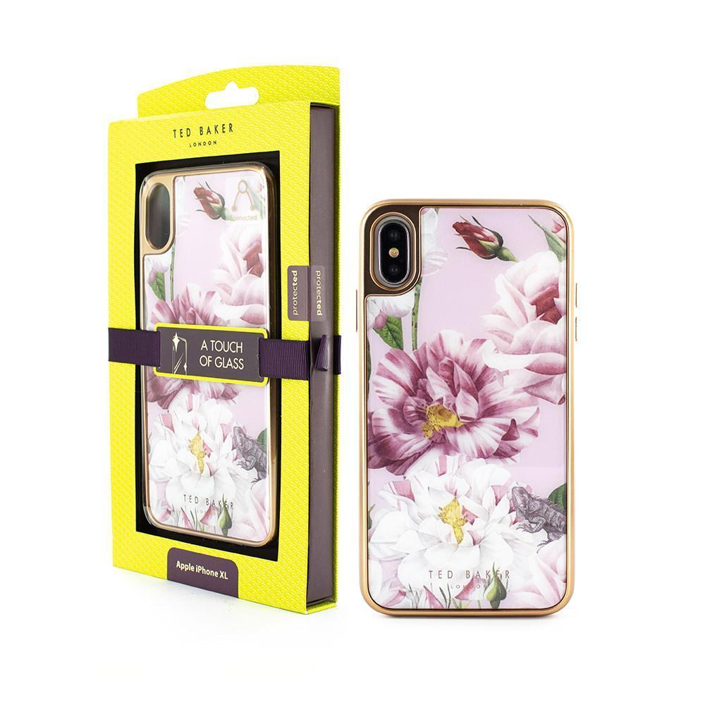 Ted Baker - GLASS INLAY for iPhone XS Max / ケース - FOX STORE