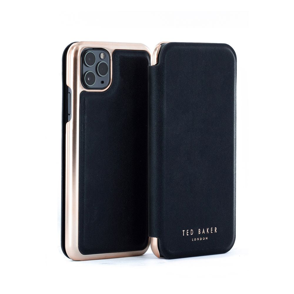 Ted Baker - Folio Case For iPhone 11 Pro Max - SHANNON BLACK