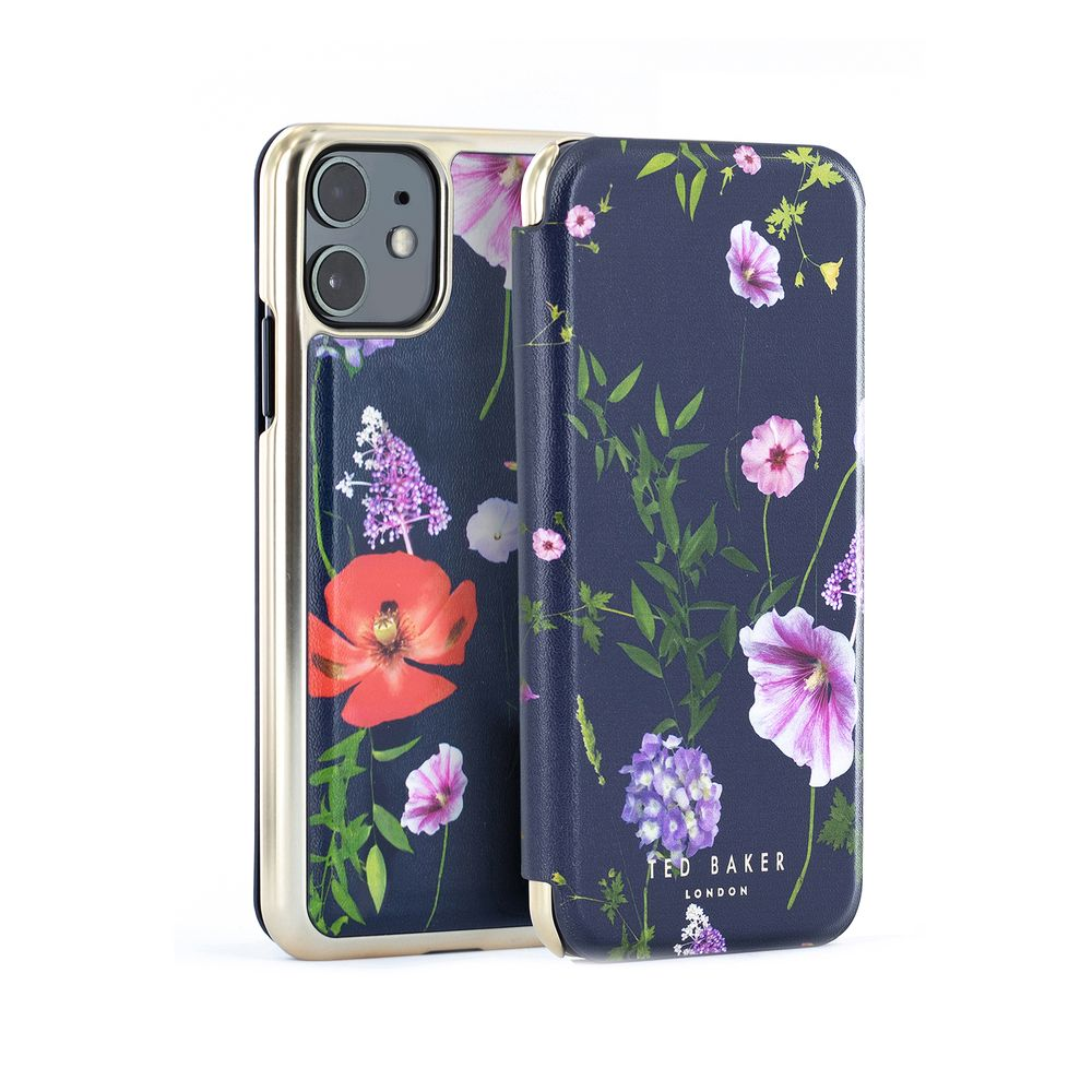 Ted Baker - Folio Case For iPhone 11 - HEDGEROW