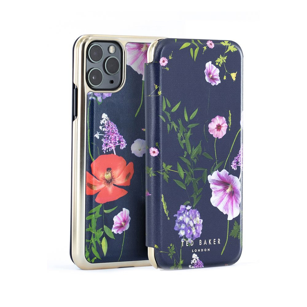 Ted Baker - Folio Case For iPhone 11 Pro Max - HEDGEROW