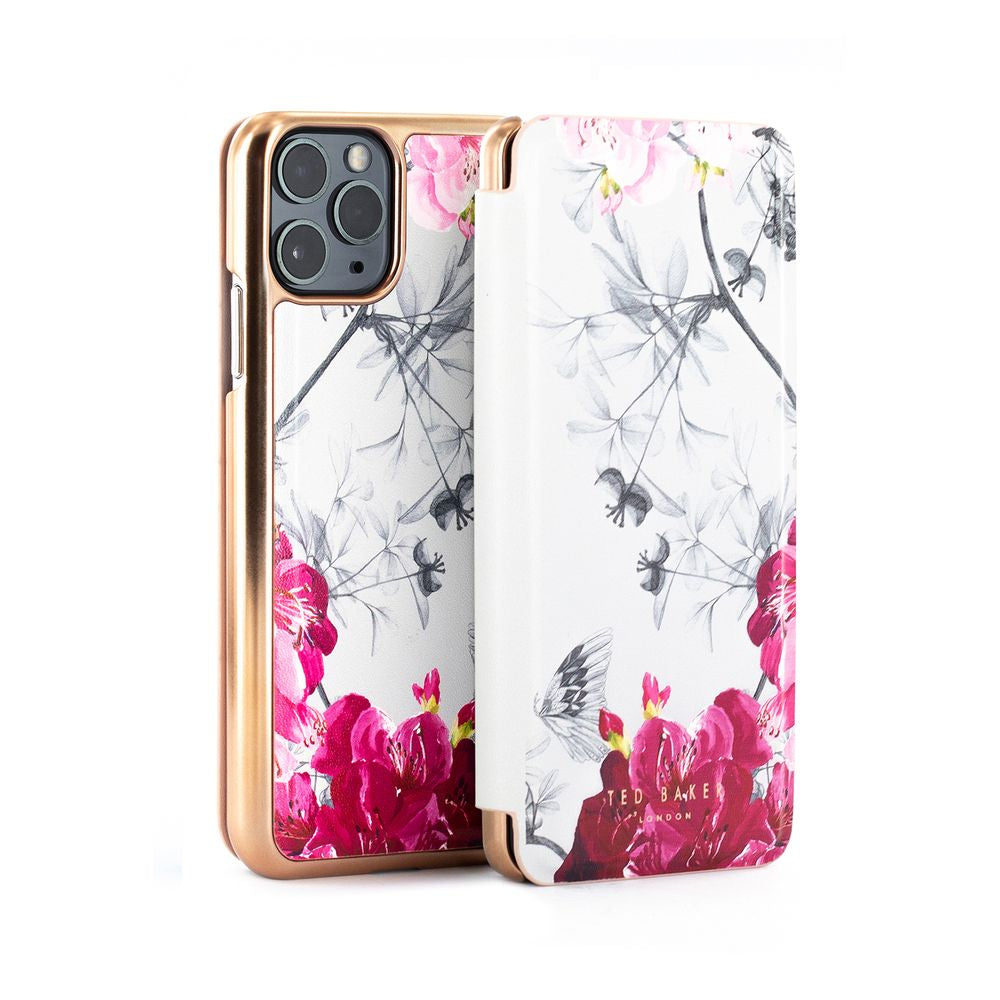 Ted Baker - Folio Case For iPhone 11 Pro - BABYLON NICKEL