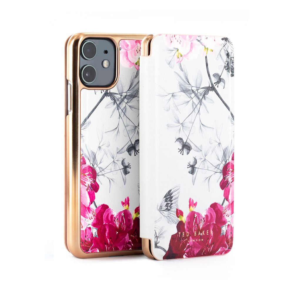 Ted Baker - Folio Case For iPhone 11 - BABYLON NICKEL