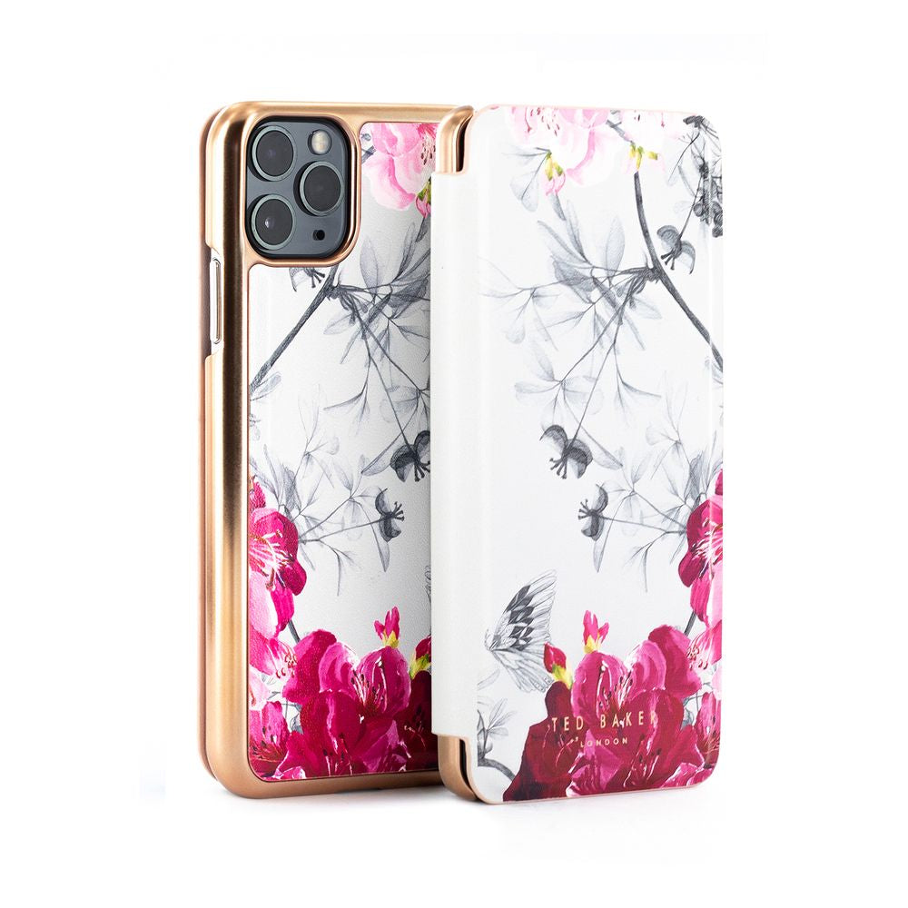 Ted Baker - Folio Case For iPhone 11 Pro Max - BABYLON NICKEL