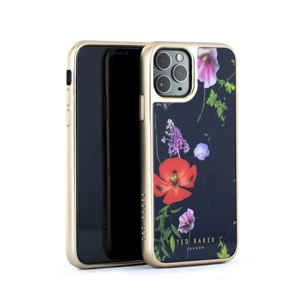 Ted Baker - Glass Inlay Case For iPhone 11 Pro - HEDGEROW