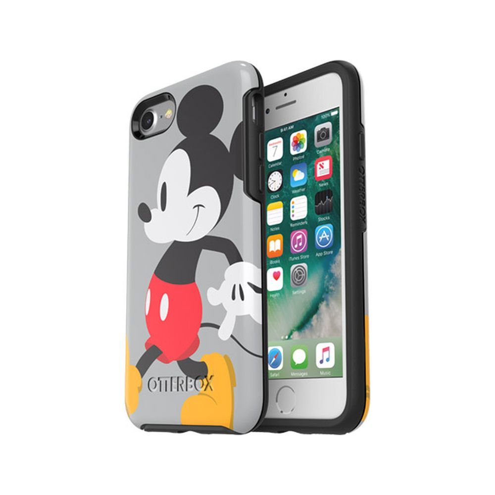 OtterBox - Symmetry Series Disney Classics for iPhone SE 第2世代/8/7 - Disney Mickey Stride
