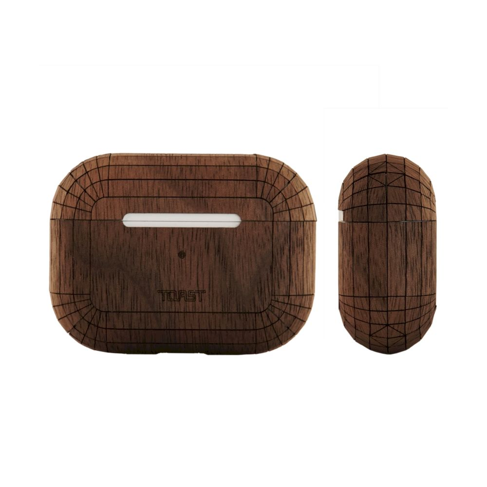 TOAST - Plain Cover for AirPods Pro - Walnut