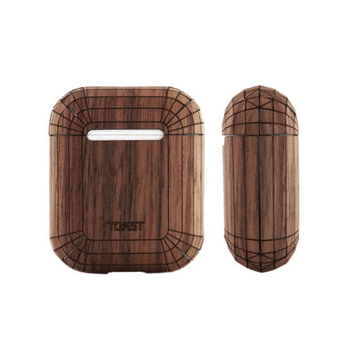 TOAST - Plain Cover for AirPods Wireless - Walnut