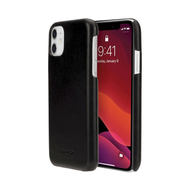 Coach - Leather Slim Wrap Case for iPhone 11 / ケース - FOX STORE