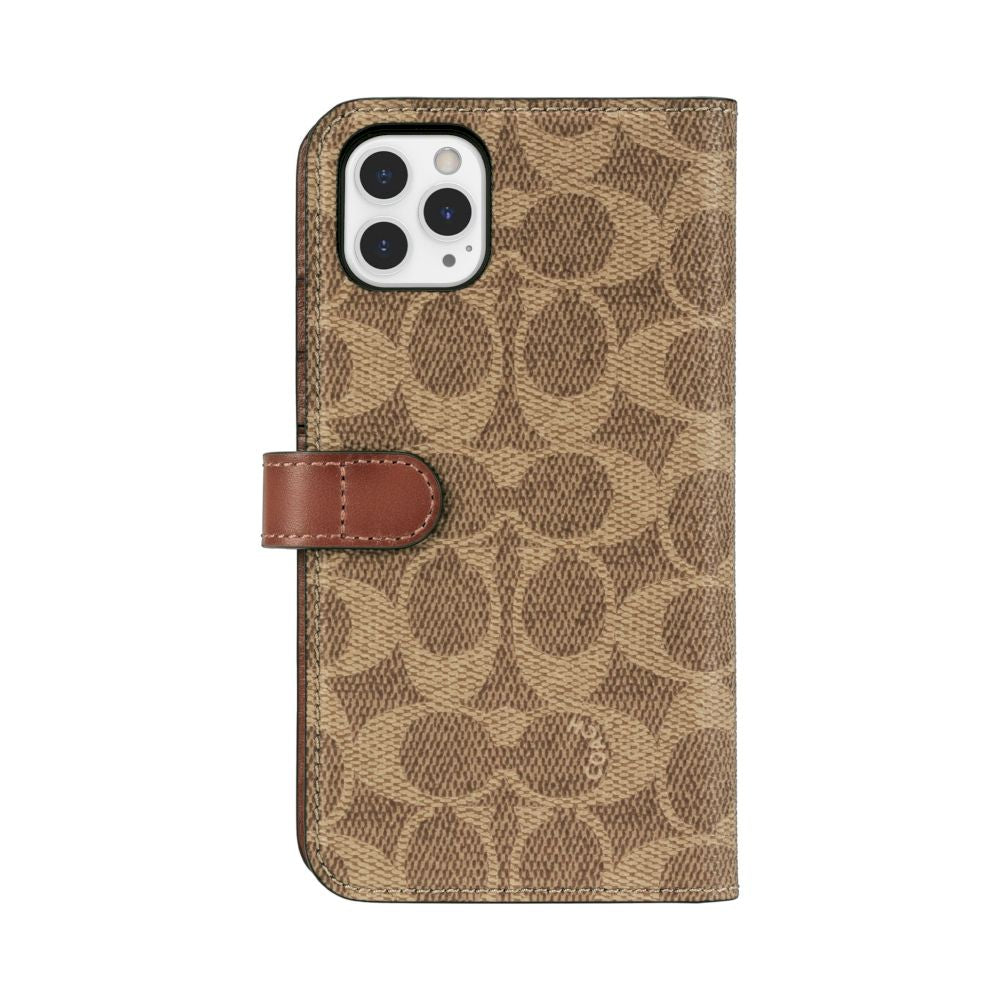Coach - Folio Case for iPhone 11 Pro Max / ケース - FOX STORE