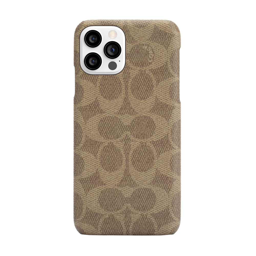 Coach - Slim Wrap Case for iPhone 12/12 Pro