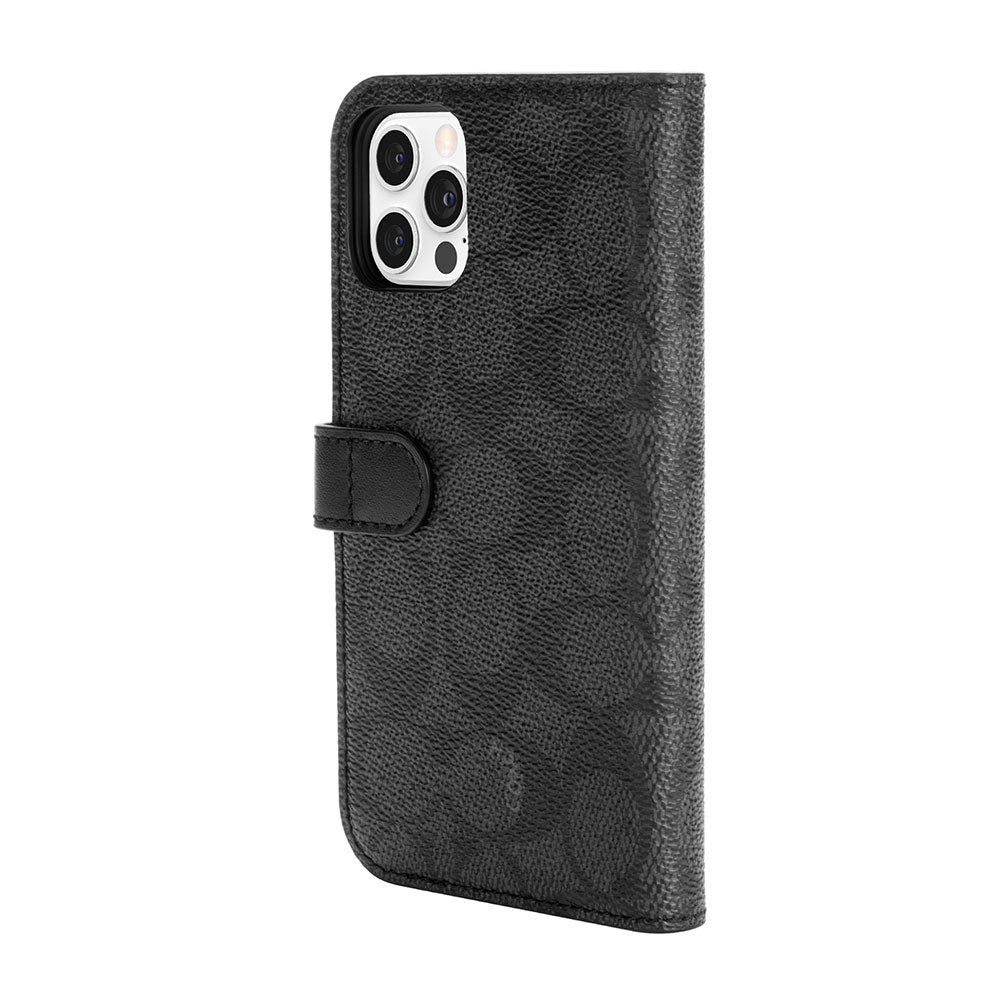 Coach - Folio Case for iPhone 12 / 12 Pro