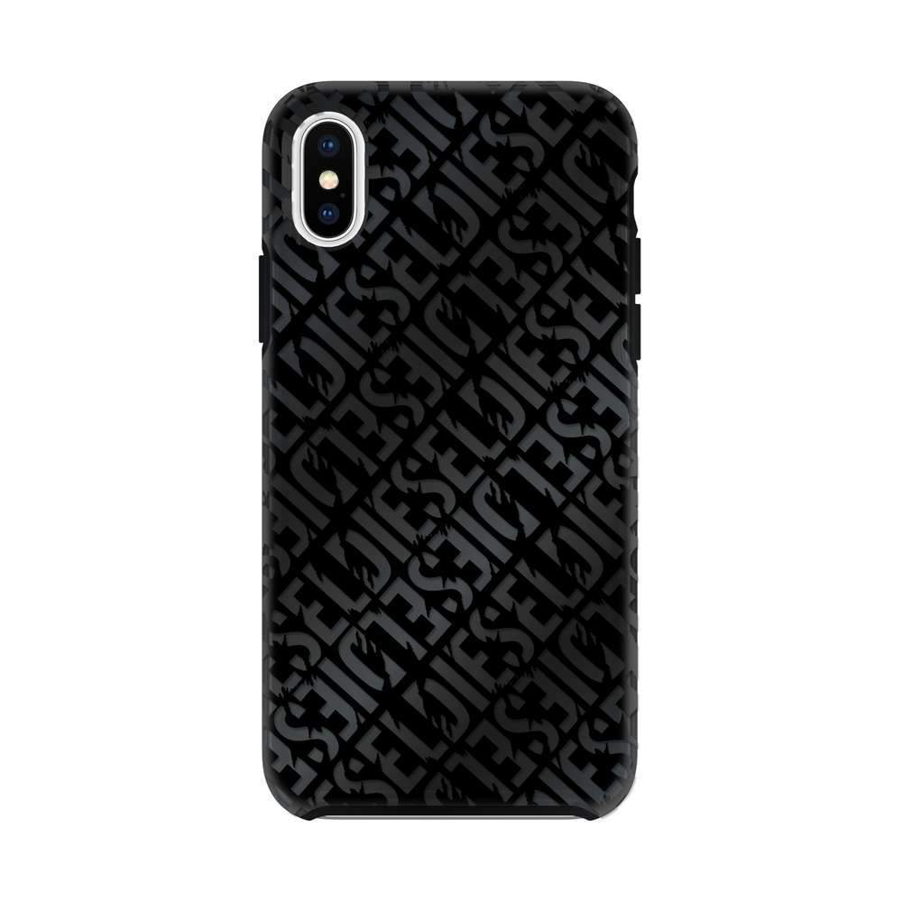 Printed Co-Mold Distressed Logo Pattern Case